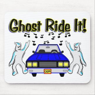 Ghost Ride It Mouse Pad