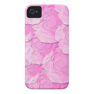 Ghost Roses with Your Choice Background Color Case-Mate iPhone 4 Case