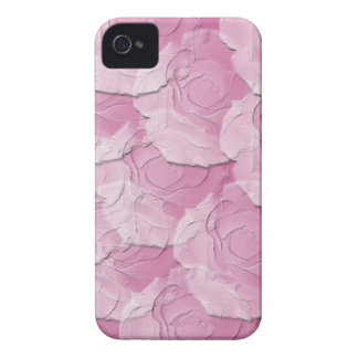 Ghost Roses with Your Choice Background Color iPhone 4 Case-Mate Case