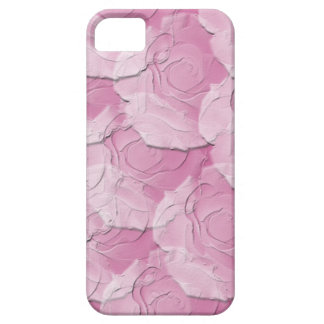 Ghost Roses with Your Choice Background Color iPhone 5 Case