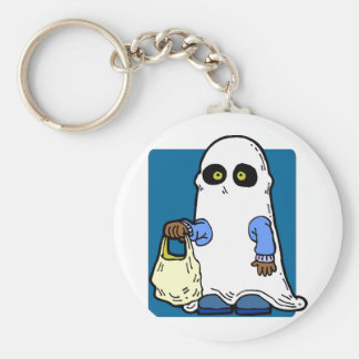Ghost Sheet Costume Key Ring
