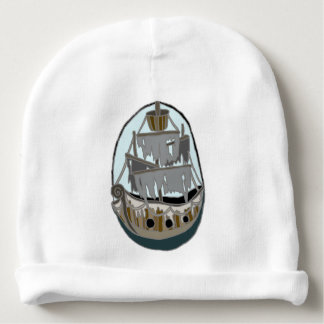 Ghost Ship Baby Beanie
