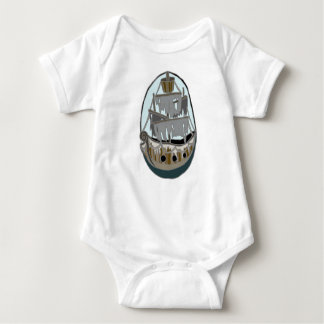Ghost Ship Baby Bodysuit