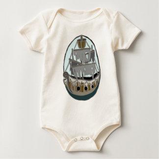 Ghost Ship Baby Bodysuit