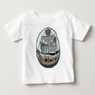 Ghost Ship Baby T-Shirt