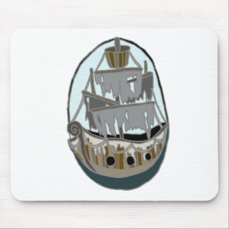 Ghost Ship Mouse Mat