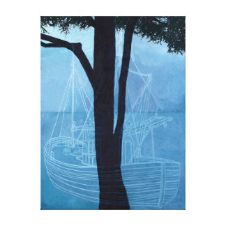 Ghost Ship One 2012 Canvas Print