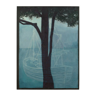 Ghost Ship One 2012 Wood Wall Decor