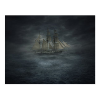 Ghost Ship Postcard