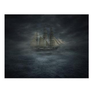 Ghost Ship Postcard