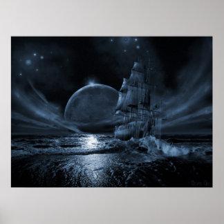 Ghost ship series: Full moon rising Poster