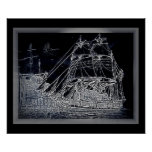 Ghost ship/wall poster