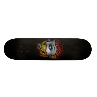 Ghost Skull Dark Board Custom Skateboard