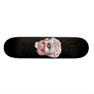 Ghost Skull White Meat Board Skate Boards