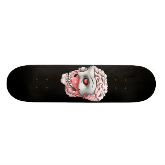 Ghost Skull White Meat Board Custom Skateboard