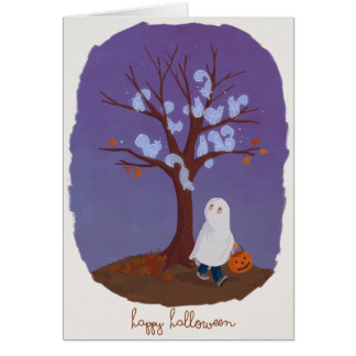 Ghost Squirrels Card