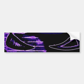 Ghost Stickers-Eyes To See Bumper Sticker