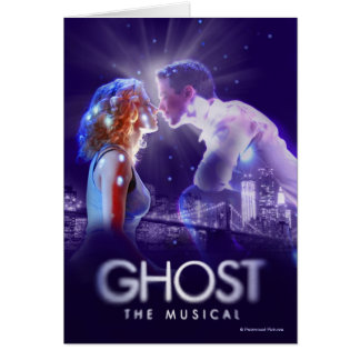 GHOST - The Musical Logo Card
