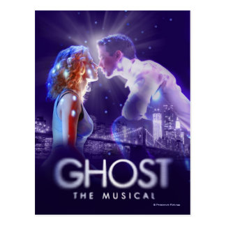 GHOST - The Musical Logo Postcard