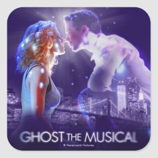 GHOST - The Musical Logo Square Sticker