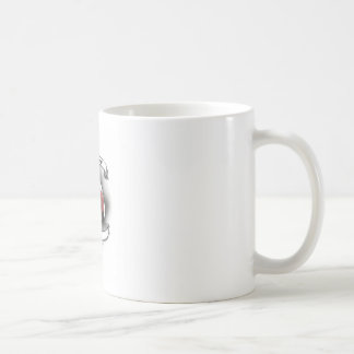 Ghost Town Mixed Martial Arts Basic White Mug