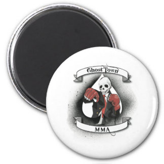 Ghost Town Mixed Martial Arts Magnet