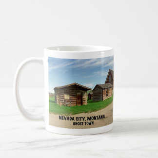 Ghost Town: Nevada City, Montana Coffee Mug