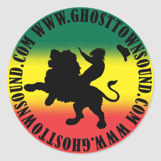 Ghost Town Sound Large Sticker