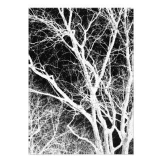 ghost tree personalized invite