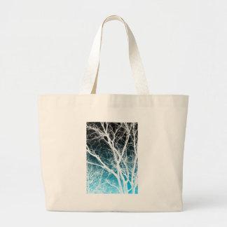 ghost tree jumbo tote bag
