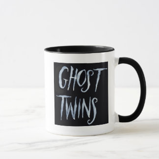 Ghost Twinslogo hot beverage mug