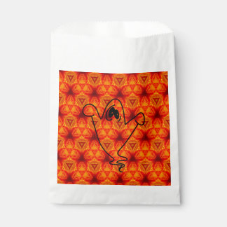 Ghost Vibrations Halloween Favor Bags