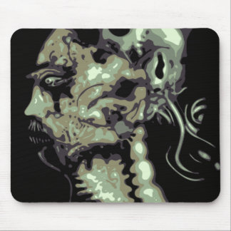 Ghost warrior mouse pad