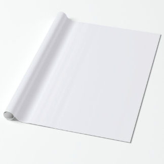 Ghost White Gift Wrap Paper