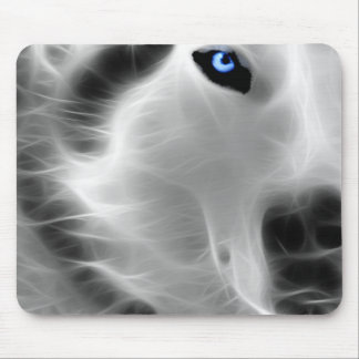 Ghost Wolf Mouse Pad