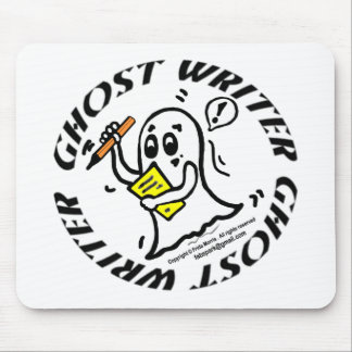 Ghost Writer Mouse Pad