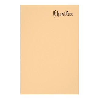 Ghostfire Writing Parchment Stationery