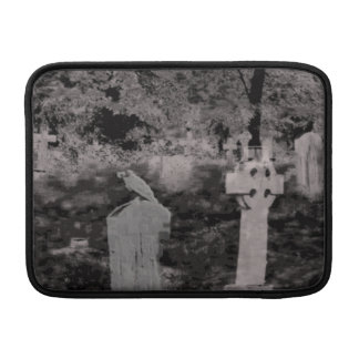 Ghostly Graveyard Macbook Air Sleeve