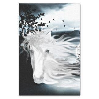 ghostly horse spirit tissue paper
