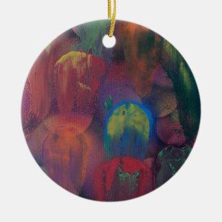 Ghostly Jellyfish Christmas Ornament