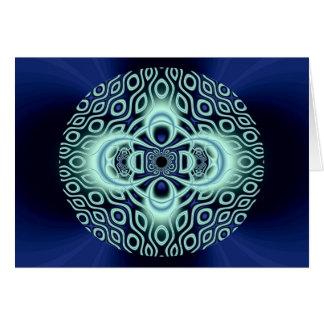 ghostly mandala cards