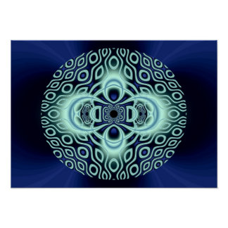 ghostly mandala print
