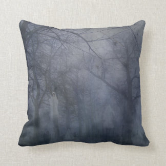 Ghostly Park Pillow