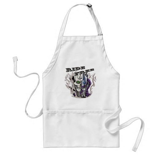 Ghostly Ride Free Skull Aprons