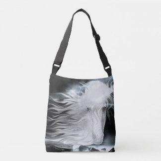 Ghostly Spirit horse Tote Bag