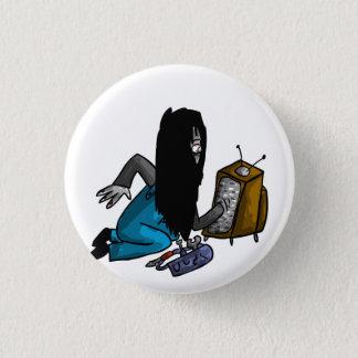 Ghostly Tv Repair-Person 3 Cm Round Badge