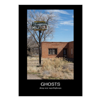 Ghosts Demotivational Poster