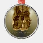 Ghosts of Christmas - A Christmas Carol Christmas Tree Ornaments