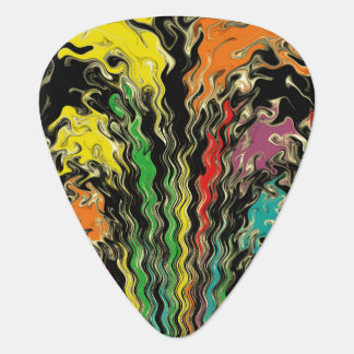 Ghosts of Rainbow Past Guitar Pick