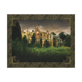 Ghosts Of The Haunted House Stretched Canvas Prints